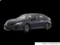 2017 Honda Civic hatchback LX   Photo 3   Polished Metal Metallic