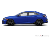 2017 Honda Civic hatchback SPORT   Photo 1   Aegean Blue Metallic