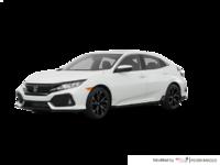 2017 Honda Civic hatchback SPORT   Photo 3   White Orchid Pearl