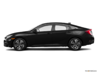2017 Honda Civic Sedan EX-T | Photo 1 | Crystal Black Pearl