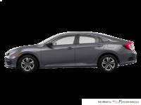 2017 Honda Civic Sedan LX-HONDA SENSING | Photo 1 | Modern Steel Metallic