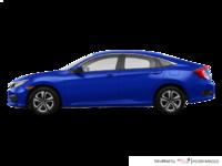 2017 Honda Civic Sedan LX | Photo 1 | Aegean Blue Metallic