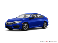 2017 Honda Civic Sedan LX | Photo 3 | Aegean Blue Metallic
