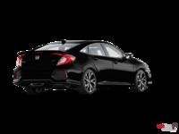 2017 Honda Civic Sedan SI | Photo 2 | Crystal Black Pearl