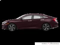 2017 Honda Civic Sedan TOURING | Photo 1 | Burgandy Nigth Pearl