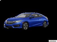 2017 Honda Civic Coupe EX-T | Photo 3 | Aegean Blue Metallic