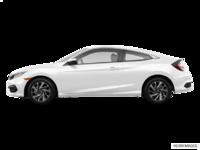 2017 Honda Civic Coupe LX-HONDA SENSING | Photo 1 | Taffeta White