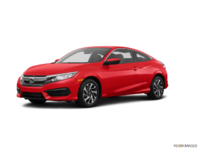 2017 Honda Civic Coupe LX-HONDA SENSING | Photo 3 | Rallye Red