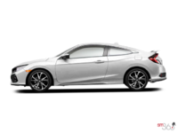 2017 Honda Civic Coupe SI | Photo 1 | White Orchid Pearl