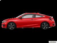 2017 Honda Civic Coupe TOURING | Photo 1 | Rallye Red