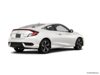 2017 Honda Civic Coupe TOURING | Photo 2 | White Orchid Pearl