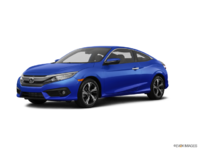 2017 Honda Civic Coupe TOURING | Photo 3 | Aegean Blue Metallic