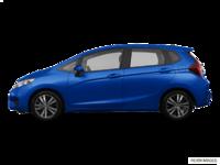 2017 Honda Fit EX-L NAVI   Photo 1   Aegean Blue Metallic