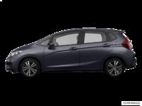 2017 Honda Fit EX-L NAVI   Photo 1   Modern Steel Metallic