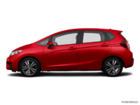 2017 Honda Fit EX-L NAVI   Photo 1   Milano red