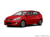 2017 Hyundai Accent 5 Doors SE | Photo 3 | Boston Red