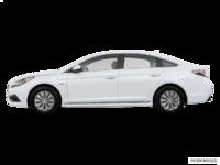 2017 Hyundai Sonata Hybrid BASE | Photo 1 | White