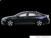 2017 Hyundai Sonata Hybrid LIMITED | Photo 1 | Blue