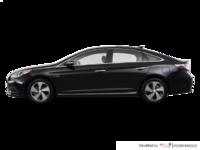 2017 Hyundai Sonata Hybrid LIMITED | Photo 1 | Black