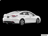 2017 Hyundai Sonata Hybrid LIMITED | Photo 2 | White