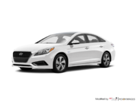 2017 Hyundai Sonata Hybrid LIMITED | Photo 3 | White