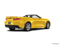 2018 Chevrolet Camaro convertible 2LT   Photo 2   Bright Yellow