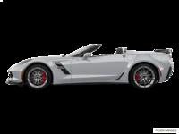 2018 Chevrolet Corvette Convertible Grand Sport 3LT   Photo 1   Blade Silver Metallic
