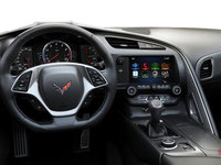 2018 Chevrolet Corvette Convertible Stingray 1LT | Photo 3 | Jet Black GT buckets Perforated Mulan leather seating surfaces (191-AQ9)