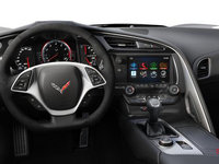 2018 Chevrolet Corvette Convertible Stingray 1LT | Photo 3 | Jet Black Competition Sport buckets Leather seating surfaces with sueded microfiber inserts (192-AE4)