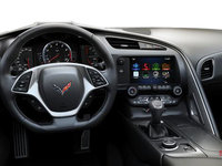 2018 Chevrolet Corvette Convertible Stingray 2LT | Photo 3 | Jet Black GT buckets Perforated Mulan leather seating surfaces (193-AQ9)