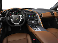 2018 Chevrolet Corvette Convertible Stingray 2LT | Photo 2 | Kalahari Competition Sport buckets Leather seating surfaces with sueded microfiber inserts (344-AE4)