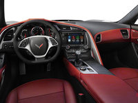 2018 Chevrolet Corvette Convertible Stingray 2LT | Photo 2 | Adrenaline Red Competition Sport buckets Leather seating surfaces with sueded microfiber inserts (704-AE4)