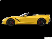 2018 Chevrolet Corvette Convertible Stingray Z51 1LT | Photo 1 | Corvette Racing Yellow Tintcoat