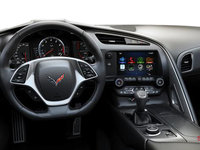 2018 Chevrolet Corvette Coupe Stingray 3LT | Photo 3 | Jet Black GT buckets Perforated Napa leather seating surfaces (195-AQ9)