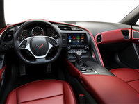 2018 Chevrolet Corvette Coupe Stingray 3LT | Photo 2 | Adrenaline Red GT buckets Perforated Napa leather seating surfaces (705-AQ9)