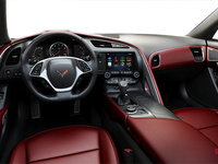 2018 Chevrolet Corvette Coupe Stingray 3LT | Photo 2 | Spice Red GT buckets Perforated Napa leather seating surfaces (755-AQ9)