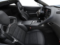 2018 Chevrolet Corvette Coupe Stingray 3LT | Photo 1 | Jet Black Competition Sport buckets Leather seating surfaces with sueded microfiber inserts (196-AE4)