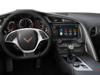2018 Chevrolet Corvette Coupe Stingray 3LT | Photo 3 | Jet Black Competition Sport buckets Leather seating surfaces with sueded microfiber inserts (196-AE4)