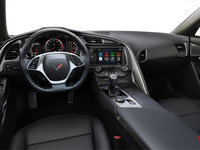 2018 Chevrolet Corvette Coupe Stingray 3LT | Photo 2 | Jet Black Competition Sport buckets Perforated Mulan leather seating surfaces (195-AE4)
