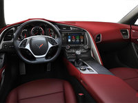 2018 Chevrolet Corvette Coupe Stingray 3LT | Photo 2 | Spice Red Competition Sport buckets Perforated Mulan leather seating surfaces (755-AE4)