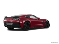 2018 Chevrolet Corvette Coupe Z06 1LZ   Photo 2   Long Beach Red Metallic Tintcoat