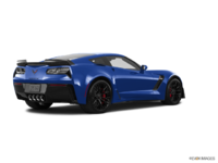 2018 Chevrolet Corvette Coupe Z06 1LZ   Photo 2   Admiral Blue Metallic