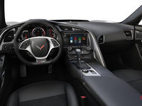 2018 Chevrolet Corvette Coupe Z06 1LZ   Photo 3   Jet Black Competition Sport buckets Leather seating surfaces with sueded microfiber inserts (192-AE4)