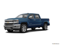 2018 Chevrolet Silverado 1500 LTZ 1LZ   Photo 3   Deep Ocean Blue Metallic