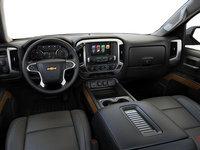 2018 Chevrolet Silverado 1500 LTZ 1LZ   Photo 3   Dark Ash/Jet Black Bucket seats Perforated Leather  (AN3-H3C)