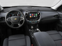2018 Chevrolet Traverse PREMIER   Photo 3   Jet black/dark galvanized perforated leather