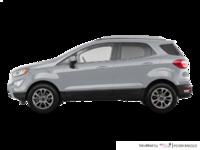 2018 Ford Ecosport TITANIUM | Photo 1 | Moondust Silver