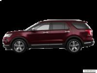 2018 Ford Explorer PLATINUM | Photo 1 | Burgundy Velvet Metallic