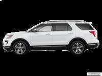 2018 Ford Explorer PLATINUM | Photo 1 | White Platinum Metallic