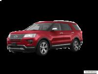 2018 Ford Explorer PLATINUM | Photo 3 | Ruby Red Metallic